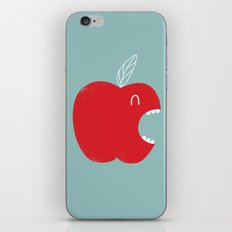 Who's biting who? iPhone & iPod Skin