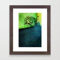 The Frog Prince Framed Art Print