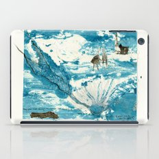 mermaid of Zennor collagraph 1 iPad Case