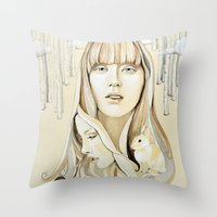A Familiar Journey Throw Pillow