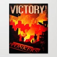 World War Z Canvas Print