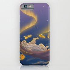 Golden fish and sailing polar bear  iPhone 6 Slim Case