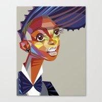 Janelle Monae Canvas Print