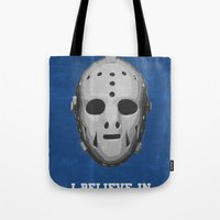 I Believe in Miracles - Lake Placid 1980 Tote Bag