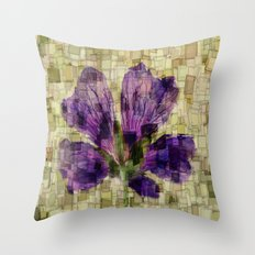 Blóm Throw Pillow