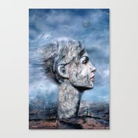 Der Windsturm ! (Solo) Canvas Print