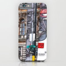 15th street Glasow iPhone 6 Slim Case