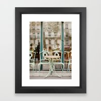 Paris Cafe Framed Art Print