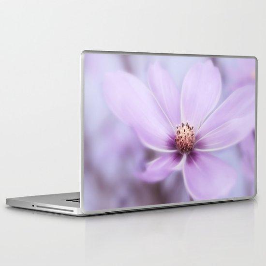 Purple Cosmea Laptop & iPad Skin