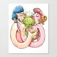 Chunky Love Canvas Print