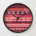 Native Spirit (alternate) Wall Clock
