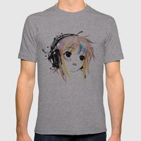 Yuki Remix Mens Fitted Tee Athletic Grey SMALL
