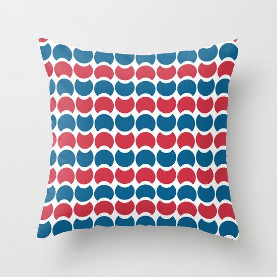 Hob Nob America Stripes Throw Pillow
