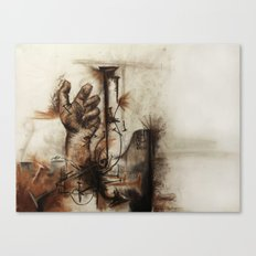 nails, fingers, and fingernails Canvas Print
