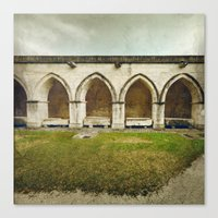 Ghost Abbey Canvas Print