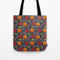Flowers in the air Tote Bag