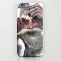 iPhone & iPod Case featuring Red Ogre by Mr Patch
