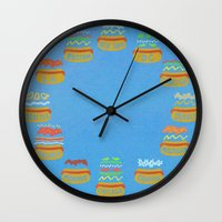 Hot Dogs! Re-do Wall Clock