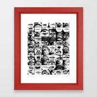 Oral Fixation 2 Framed Art Print