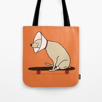 Cone Of Shame Won't Stop… Tote Bag
