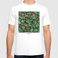 Orixás - Ossae Mens Fitted Tee White SMALL