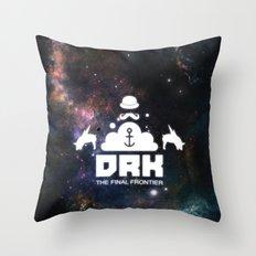 Dreck-The Final Frontier Throw Pillow