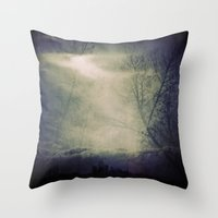 Lomographic Sky 5 Throw Pillow