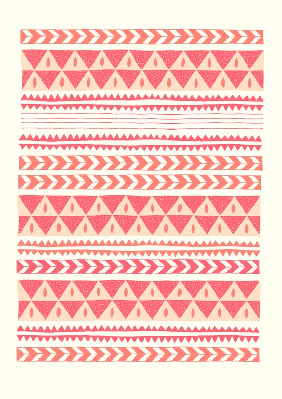 Winter Stripe II Art Print
