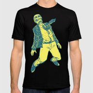 Levitates Mens Fitted Tee Black SMALL