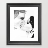 Put Your Hand Back In My… Framed Art Print