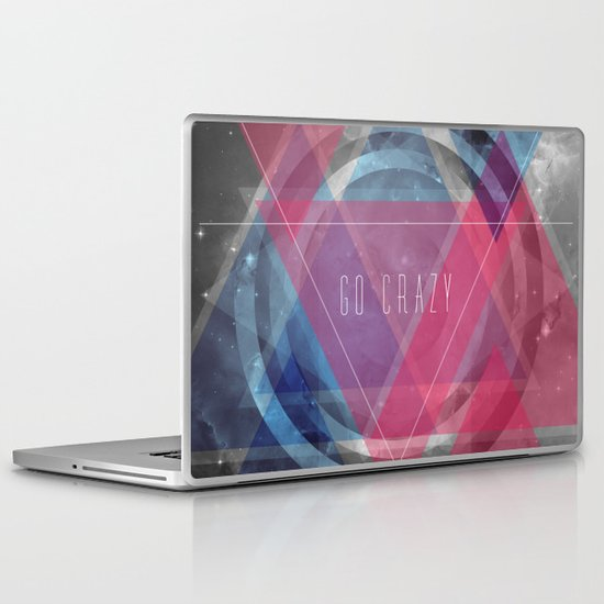 Craziness... let's go there. Laptop & iPad Skin