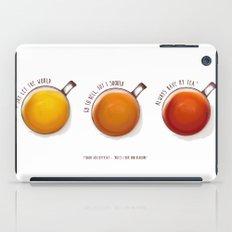 TEA PRINT iPad Case