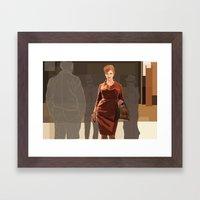 JOAN///////////////////// Framed Art Print
