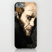 iPhone & iPod Case featuring Jason Statham digital sketch by Grant Pearce