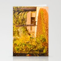 Visitor at the Park Stationery Cards