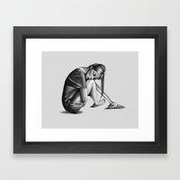 The Left Behinds Framed Art Print