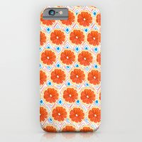 iPhone & iPod Case featuring Citrus/Geo by Bouffants and Broken Hearts