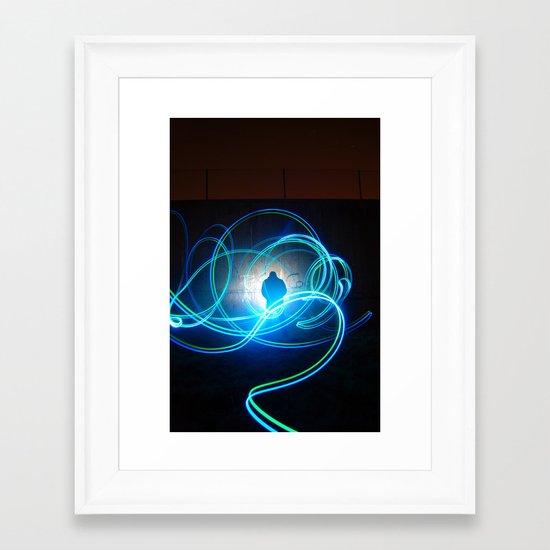 Woody W. Framed Art Print