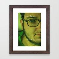 Zelophobia. Framed Art Print
