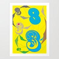 No.03 Art Print