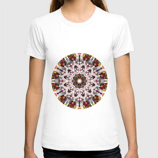 Donkey Flower Kaleidoscope  T-shirt