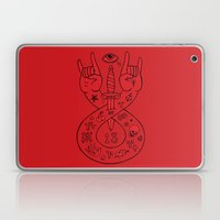 lament red Laptop & iPad Skin