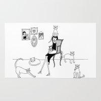 Cat Lady Rug