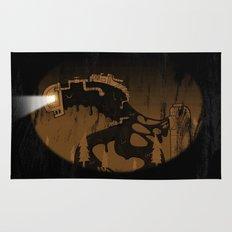 oil monster Rug