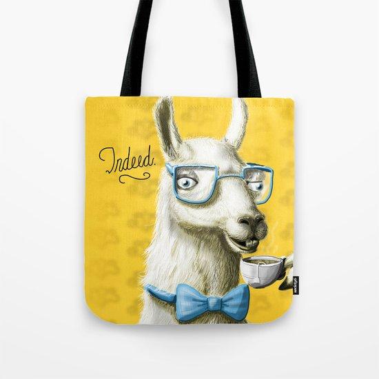 The Fancy Llama Tote Bag