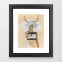 Kato Framed Art Print