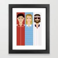 The Children Tenenbaum Framed Art Print