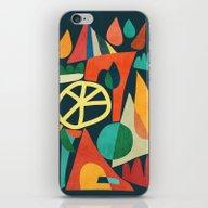 Summer Fun House iPhone & iPod Skin