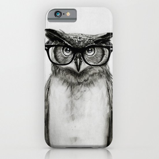 Mr. Owl iPhone & iPod Case