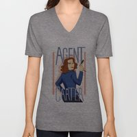 Agent Carter Unisex V-Neck